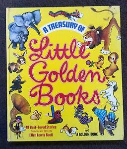 Treasury of Little Golden Books 48 Best Loved Stories 1972 Retro Victoria Park Victoria Park Area Preview
