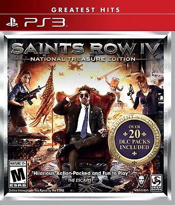 Saints Row IV National Treasure Edition PS3 Greatest Hits segunda mano  Embacar hacia Argentina