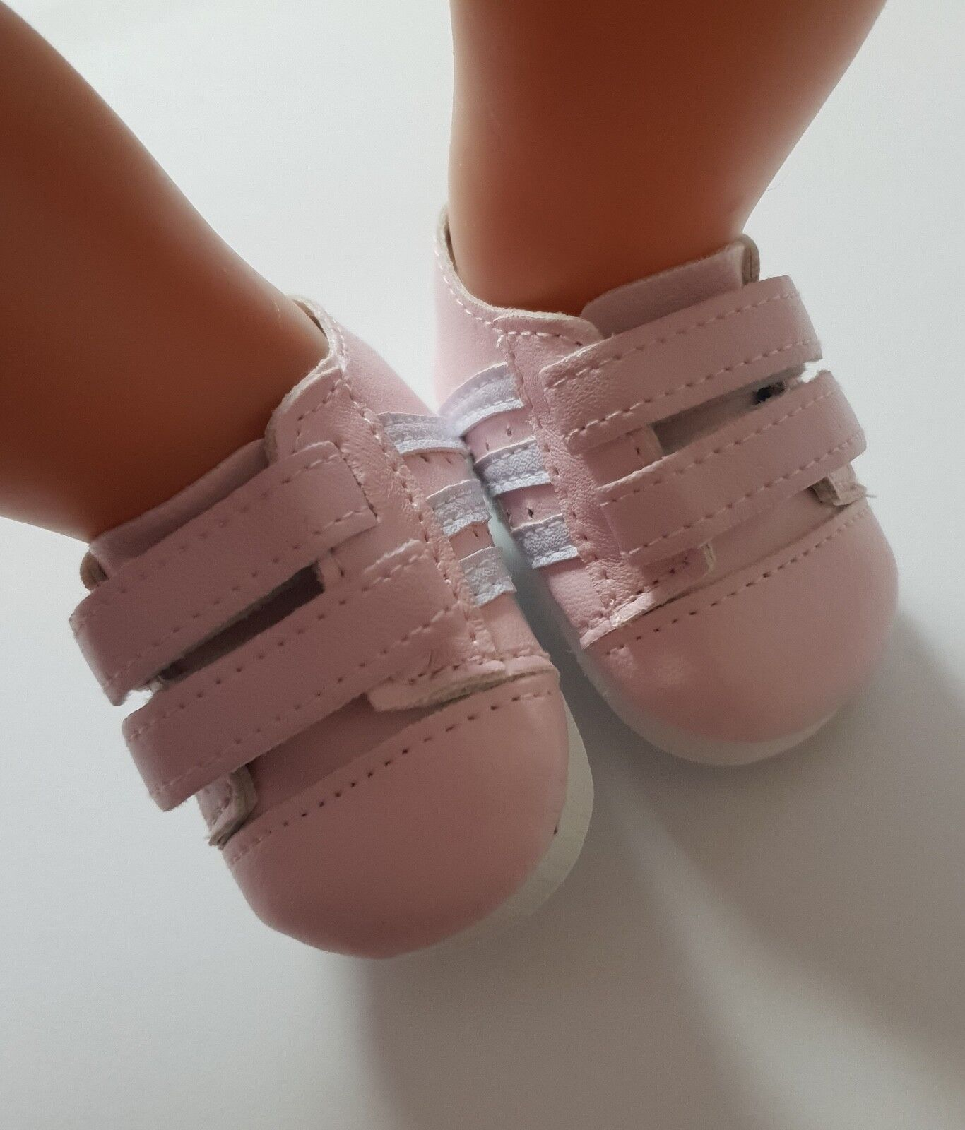 Puppenkleidung, Sneaker, Schuhe, rosa, 43 cm, zb. Baby Born/Sister, NEU