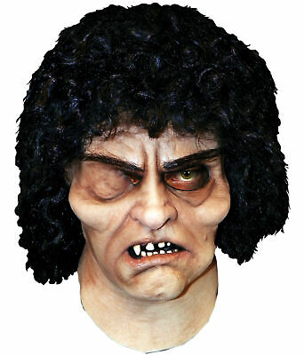 Hunchback Halloween Costume (Hunchback Of Notre Dame Latex Adult Mask Movie Character Head Costume)