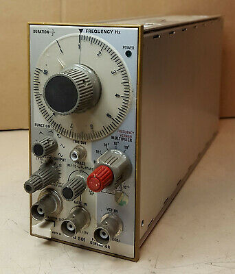 Tektronix Fg 501 Function Generator Tm500 .001hz-1mhz