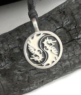 Dragon Yin Yang Ying Yang Best Friend Jewelry Charms Necklace Pendant