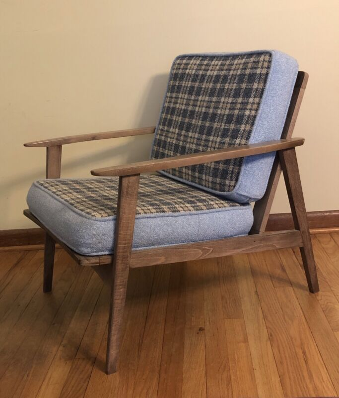 Vintage Mid Century Modern Danish Lounge Chair
