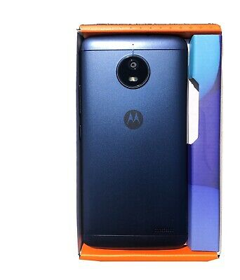 "Motorola Moto E4 4G 5"" Smartphone 16GB  - Oxford Blue Brand New Opened Unused"