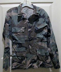 USMC-MARINE-CORPS-Jungle-Camouflage-Jacket-Size-Small-Short-FREE-Shipping