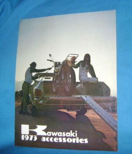 1973 KAWASAKI ACCESSORIES SALES BROCHURE CATALOG