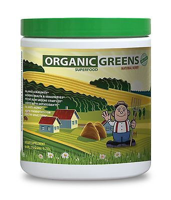 Natural   Homeopathic Remedies   Greens Superfood Berry   Health Defence   1Can