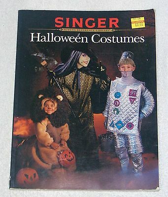 Singer HALLOWEEN COSTUMES Sewing Reference Library Step by Step Instructions VGC - Halloween References
