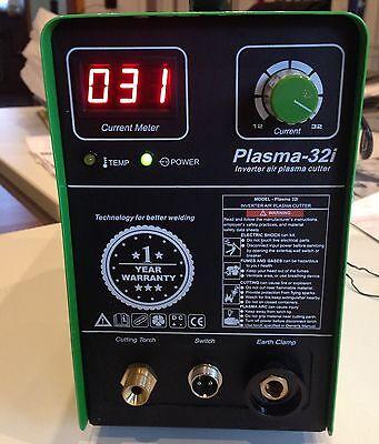 HST Plasmaschneider 32 I  CUT 30 Amp HF-Zündung schneidet bis 10 mm Inverter