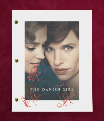 Danish Girl with reproduction signatures