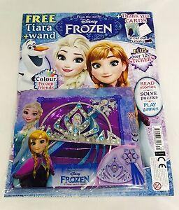 Disney FROZEN Magazine #35 - FREE GIFTS!(BRAND NEW COPY)