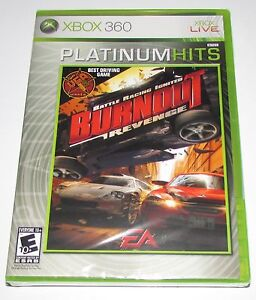Burnout Revenge for Xbox 360 Brand New, Factory Sealed! Fast Shipping!