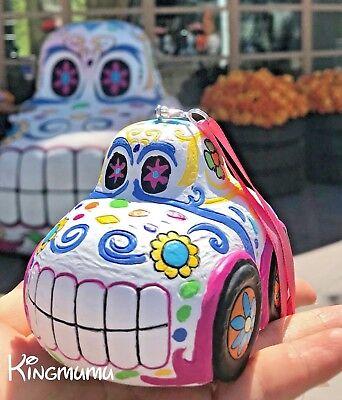 Disney Parks Halloween Sugar Skull Car Pixar Cars Land Christmas Ornament