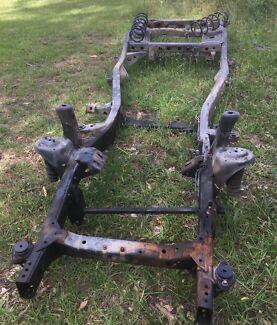 Toyota landcruiser 80 series chassis