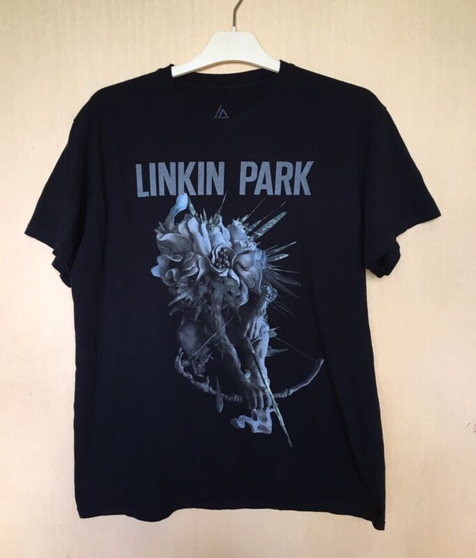 Linkin Park The hunting p Womens Large T-Shirt 2014 Carnivores Tour Short Sleeve