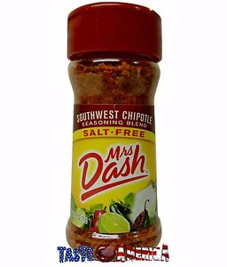 Mrs Dash Southwest Chipotle Seasoning Blend Salt Free 71g