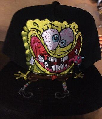 Official SPONGEBOB SQUAREPANTS SnapBack Hat. Brand New. One Size Fits All - Spongebob Hat