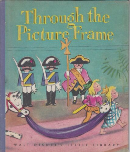 WALT DISNEY SCARCE DUST JACKET THROUGH THE PICTURE FRAME  1946 SECOND PRINTING