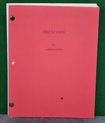 Vintage Movie Script PREACHER by Garth Ennis