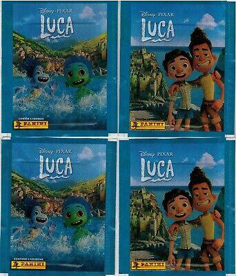 Brazil version 2021 Panini Disney Pixar Luca sticker pack x4