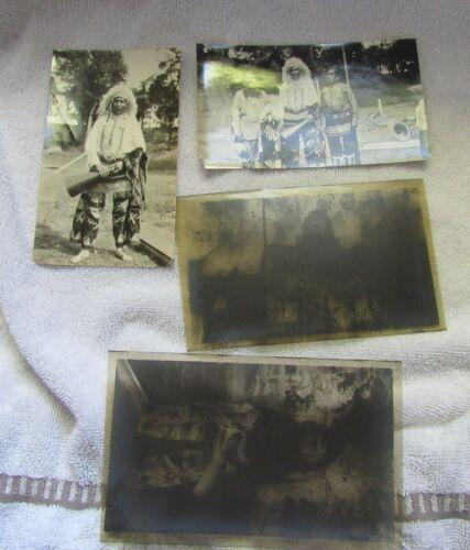 2 1929 Native Indian Photo Photograph Images & Negatives Plains Indian Dress