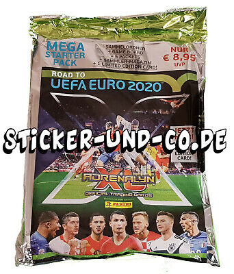 Panini Road to Euro 2020 Adrenalyn XL Starter-Set inkl. 1 x Limited Edition