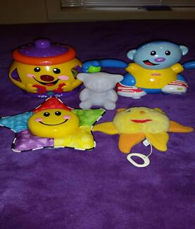 Musical Toys and Night Light- Fisher Price, Baby Einstein,etc Ingle Farm Salisbury Area Preview