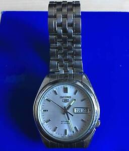 Men's Seiko 5 watch 21 jewels automatic - AVAILABLE NOW Coogee Eastern Suburbs Preview