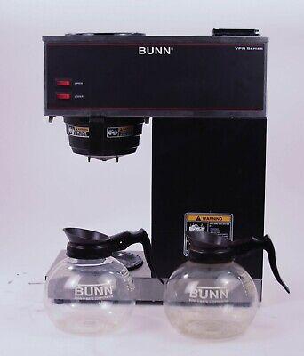 Genuine Bunn Vpr Series Commercial Grade Double Burner Coffee Maker Works