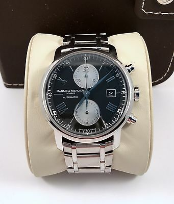 Baume Mercier Classima XL Executive Automatic Mens Chronograph Watch 65591