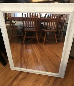 Large vintage-looking mirror