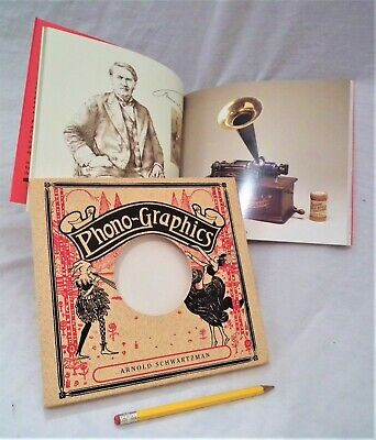 RARE PHONOGRAPH GRAMOPHONE VICTROLA 78 RPM RECORD PLAYER REFERENCE BOOK