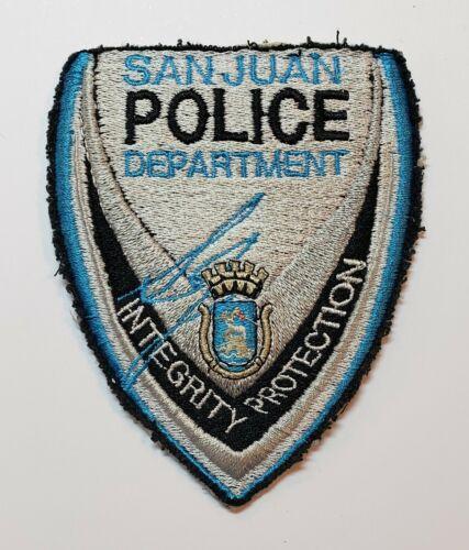 VINTAGE OBSOLETE PATCH / SAN JUAN POLICE DEPARTMENT / PUERTO RICO #4