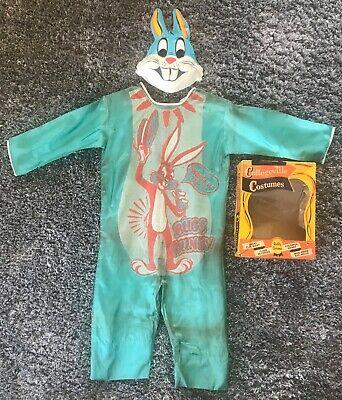 Vintage! BUGS BUNNY #203 1966 Collegeville COSTUME w/ BOX Looney Tunes Halloween