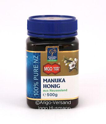 Manuka-honig (Aktiver Manuka-Honig MGO™ 100+ aus Neuseeland, 50g / 250g / 500g / 1000g )