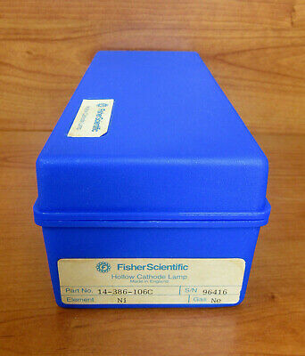 Fisher Scientific Perkin Elmer Aa Atomic Absorption Lamp 14-386-106c Element Ni