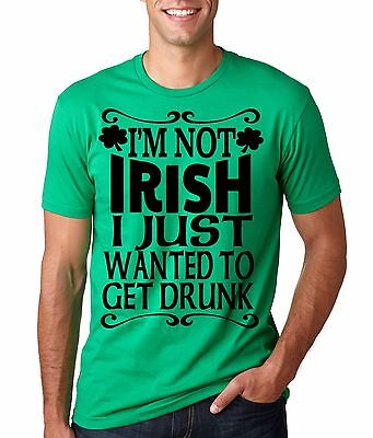 St Patty Day Green T-shirt saint Patrick's day Green IRISH tee shirt funny tee ()