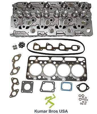 New Kumarbros Usa Bobcat 341 Kubota V2203 Complete Cyl Head Upper Gasket Set