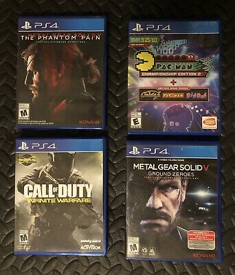 PS4 Game Lot Bundle