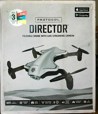 Conduct Director Foldable Drone With Live Streaming Camera 3 Camera APP, Aerial