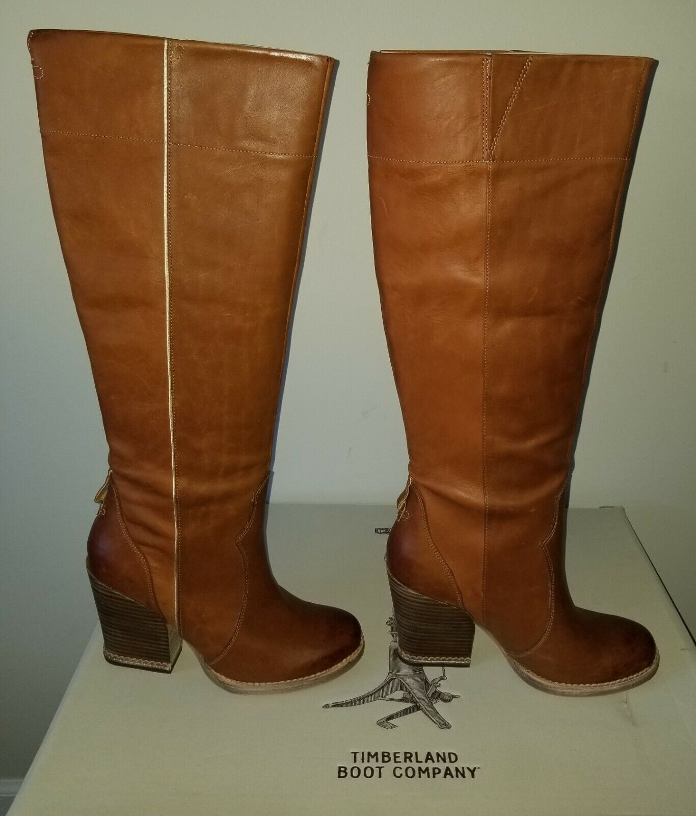 NEW AUTHENTIC WOMEN'S TIMBERLAND BOOT COMPANY® MARGE TALL SLOUCH BOOTS US 8