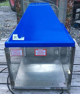 Wisco 690 Food Warmer Cabinet Food Oven Display Sandwich 2 Door 690-16 29