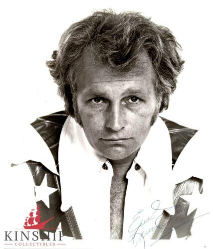 Evel Knievel signed 8x10 Photo JSA COA Famous Stuntman d.2007 Vintage Auto B625