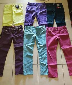 Women's coloured skinny jeans Slacks Creek Logan Area Preview