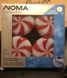 BRAND NEW IN BOX NOMA Outdoor Colour Changing  Pathway Lights