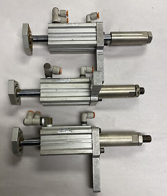 T.a. Systems Us29176 Pneumatic Slide Cylinder Lot Of 3