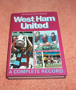 Breedon Football Club book West Ham United A Complete Record 1895-1993 NEW