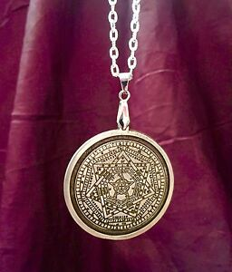 MAGICAL AMULET OF THE  ENOCHIAN ART Finbarr Occult Magic Magick  Angel Talisman