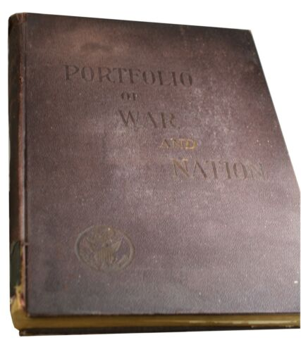 1906 EDITION - OFFICIAL PORTFOLIO OF WAR AND NATION BOOK