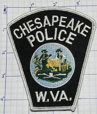 WEST VIRGINIA, CHESAPEAKE POLICE DEPT PATCH